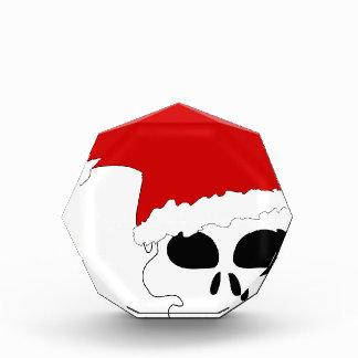 goth skull christmas award