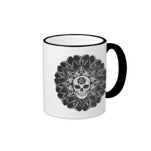 Goth Skull Mug