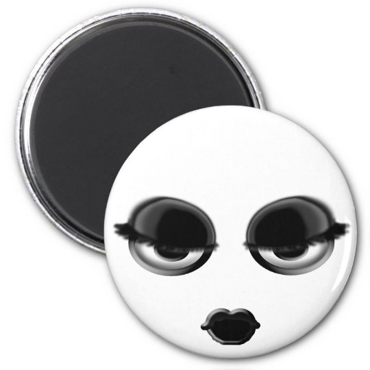 Goth Smiley Magnet