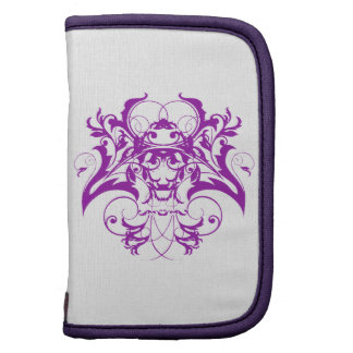 Goth Tribal Flourish in Purple Folio Planner