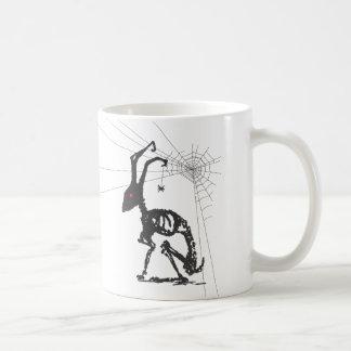 GOTH WITH SPIDER FRIEND COFFEE MUG