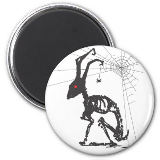 GOTH WITH SPIDER FRIEND MAGNETS