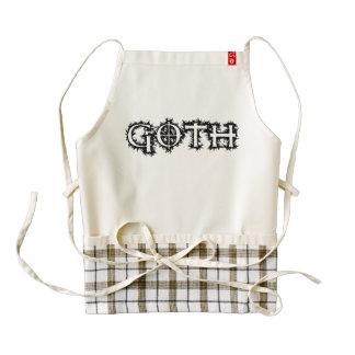 Goth Zazzle HEART Apron