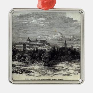 Gotha, engraved by W.J. Linton Metal Ornament