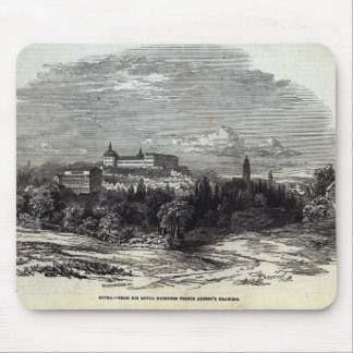 Gotha, engraved by W.J. Linton Mouse Pad