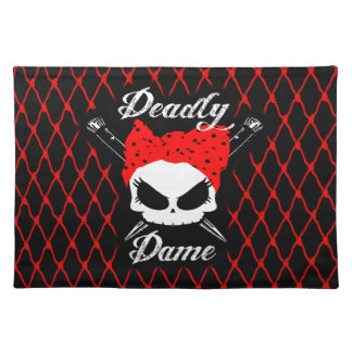 Gothabilly Dame Placemat