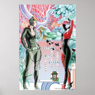 Gotham City Sirens Cv10 Poster