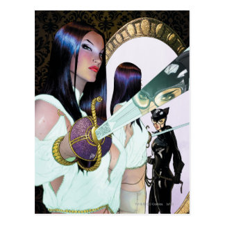 Gotham City Sirens Cv16 Postcard