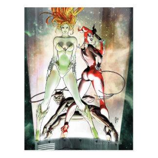 Gotham City Sirens Cv1 Postcard