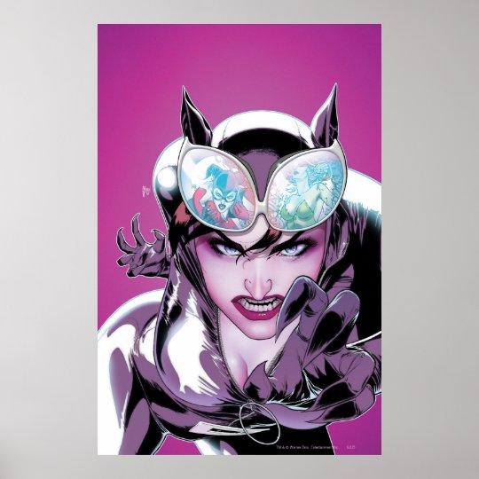 Gotham City Sirens Cv2 Poster
