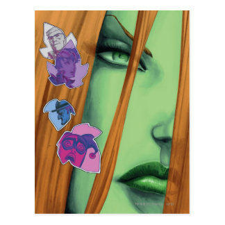 Gotham City Sirens Cv8 Postcard