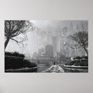 Gotham Garden (Winter) Poster