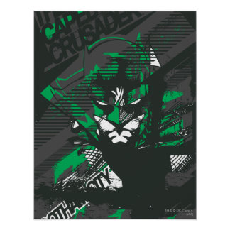 Gotham's Caped Crusader Poster