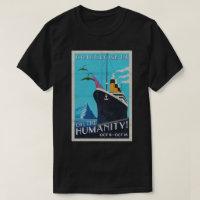 GothCruise 13: Oh, the Humanity 2-sided shirt