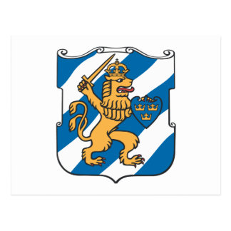 Gothenburg Coat of Arms Postcard