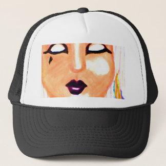 Gothia - Goth Mask Design - Cricketdiane Stuff Trucker Hat