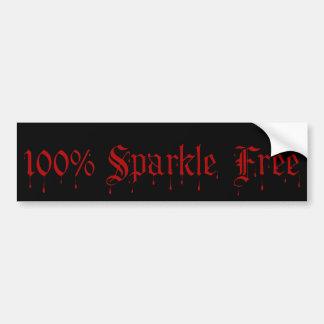 Gothic 100% Sparkle Free Bumper Sticker