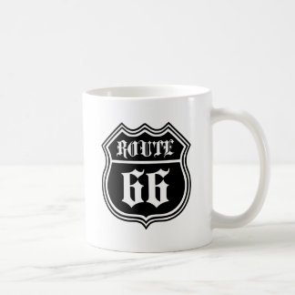 Gothic 66 classic white coffee mug
