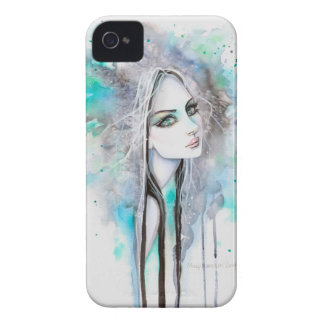 Gothic Abstract Fantasy Art Ghost Girl iPhone 4 Case-Mate Case
