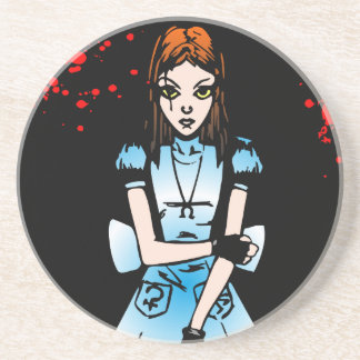 Gothic Alice Drink Coaster