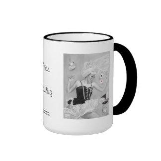 Gothic Alice in Wonderland Falling Mug