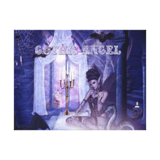 Gothic Angel Canvas Print