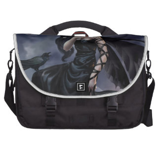 Gothic angel laptop computer bag