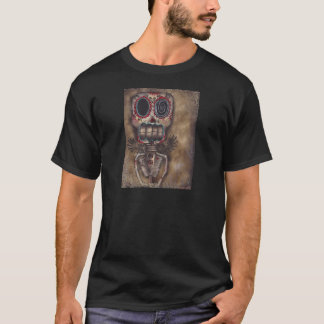Gothic Angel Skeleton Day of the Dead Shirt