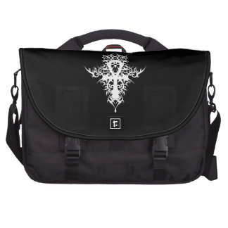 Gothic Ankh Computer Bag