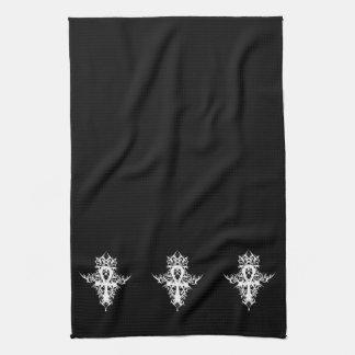 Gothic Ankh Kitchen Towel