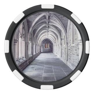 Gothic Arches Poker Chips Set