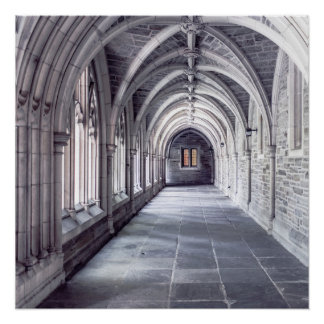Gothic Arches Poster