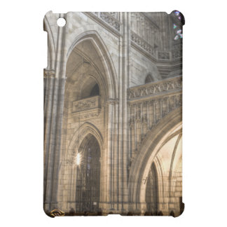 Gothic Arches St.Vitus Cathedral Prague iPad Mini Cover