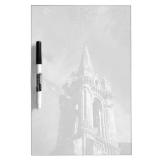 Gothic architecture dry erase whiteboards