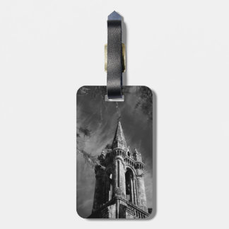 Gothic architecture luggage tag