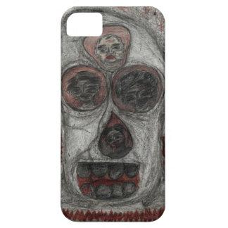 Gothic art skull/totem iPhone SE/5/5s case