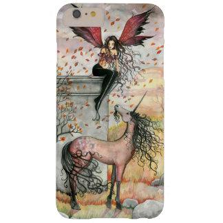 Gothic Autumn Fairy Unicorn Faerie Fantasy Art Barely There iPhone 6 Plus Case