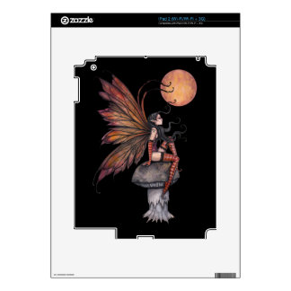 Gothic Autumn Fantasy Fairy Art Yellow Moon Decal For The iPad 2