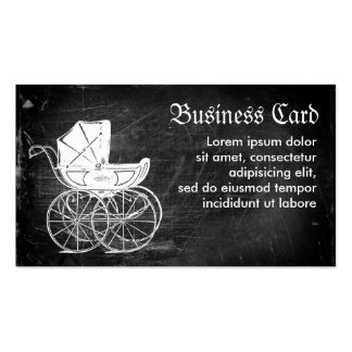 Gothic Baby Carriage Business Cards