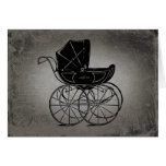 Gothic Baby Carriage Card