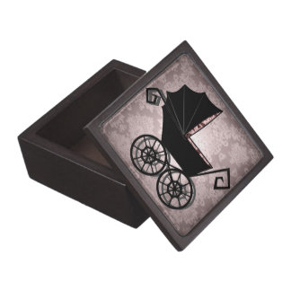 'Gothic Baby Carriage- Girl' Premium Gift Box
