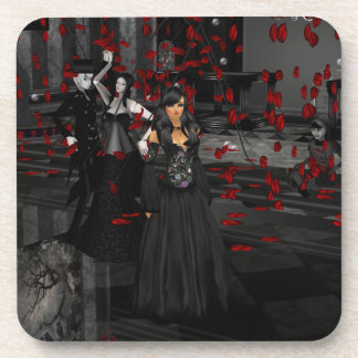 Gothic Ball Room Coasters