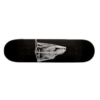 Gothic Bat Skeleton Skateboard Deck