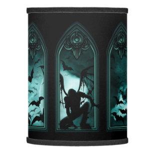 Gothic lamp shades zazzle gothic bat windows lamp shade aloadofball Image collections