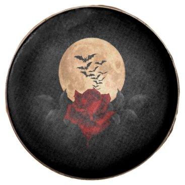 Halloween Themed Gothic Bats Chocolate Dipped Oreo