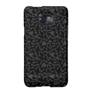Gothic Bats Vampire Pattern Galaxy SII Cover