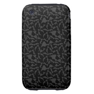 Gothic Bats Vampire Pattern Tough iPhone 3 Cover