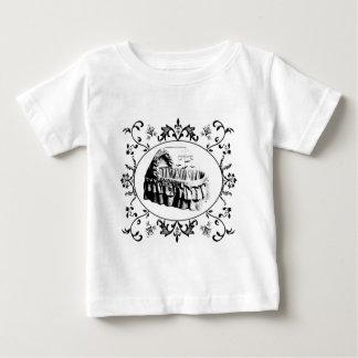 Gothic Batty Bassinet Baby T-Shirt
