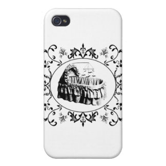 Gothic Batty Bassinet Cases For iPhone 4