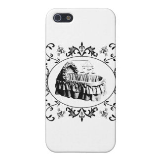 Gothic Batty Bassinet iPhone 5 Cases